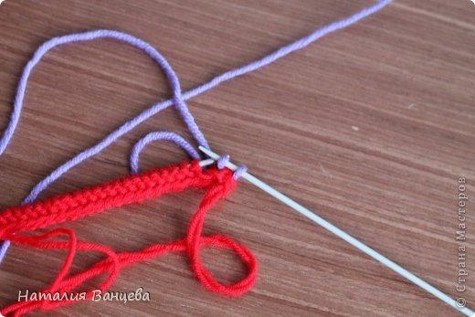 Мастер-класс Поделка изделие Вязание спицами Мячи из остатков пряжи МК и описание Пряжа фото 5