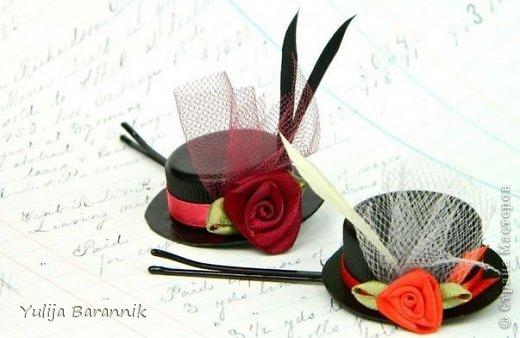 Мастер-класс Коллаж Шляпка как декор Картон фото 1