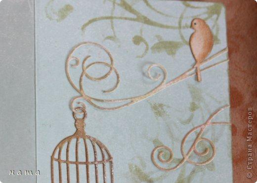 Поскрапила в преддверии праздника,  будут дариться вместо открыток ...весенние все, немножко лирические  фото 10