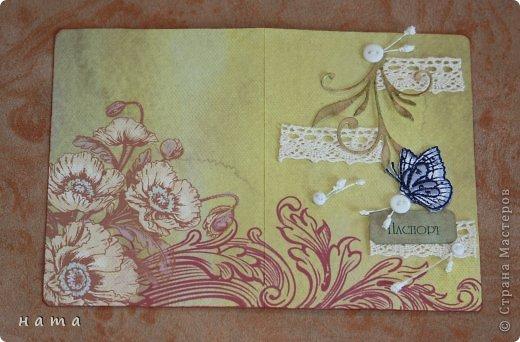 Поскрапила в преддверии праздника,  будут дариться вместо открыток ...весенние все, немножко лирические  фото 6