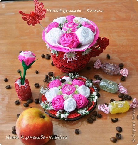 Здраствуйте, разрешите представить мою цветочную композицию. фото 1