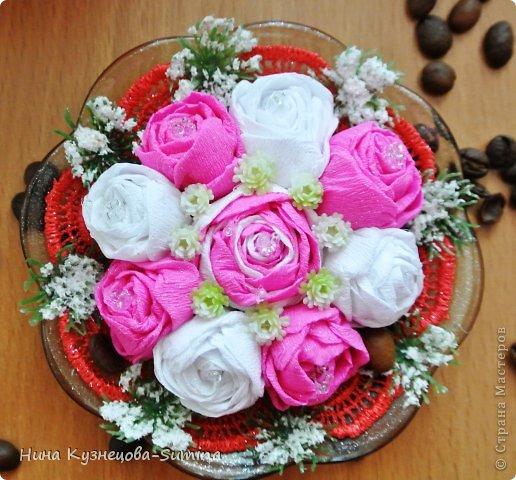 Здраствуйте, разрешите представить мою цветочную композицию. фото 2