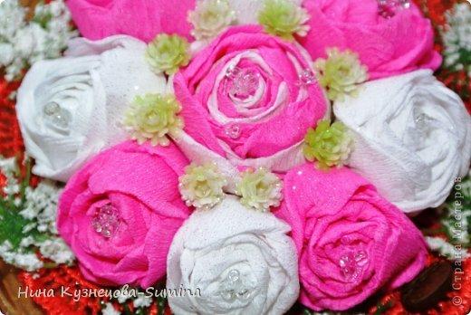 Здраствуйте, разрешите представить мою цветочную композицию. фото 3