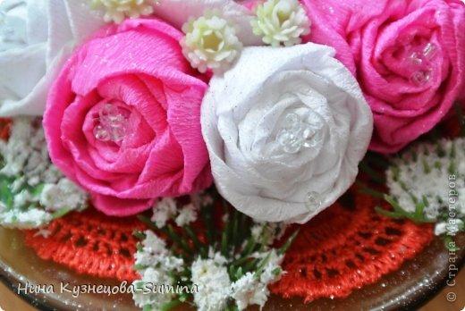 Здраствуйте, разрешите представить мою цветочную композицию. фото 4