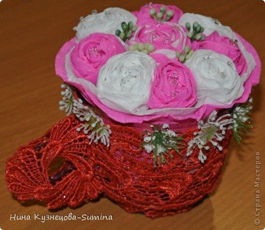 Здраствуйте, разрешите представить мою цветочную композицию. фото 5