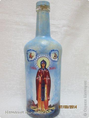 Эти бутылочки я сделала на подарок маме и своей крестной. фото 6