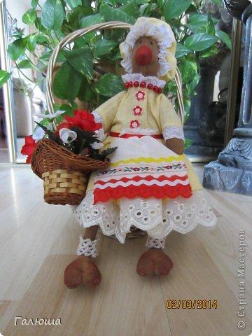Курица- красавица