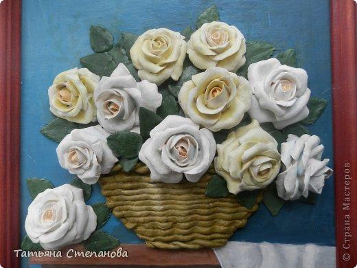 Добрый день дорогие мастера и мастерицы! Во- первых поздравляю с праздником всех милых дам, с 8 мартом!!!! А во-вторых предоставляю на ваш суд мою очередную работу. Это подарок коллеге по работе. У нее 8 марта день рождения! Розы заказала она сама.