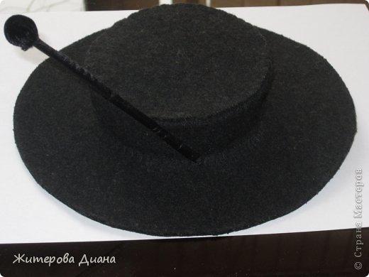 Выкройка шляпы шапокляк
