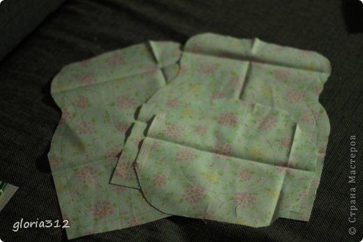 Кукольная жизнь Мастер-класс 8 марта Моделирование конструирование Кресло в стиле Шебби-шик  Картон Кружево Поролон Ткань фото 3
