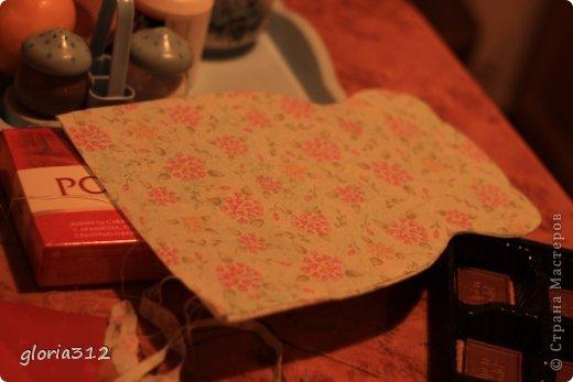 Кукольная жизнь Мастер-класс 8 марта Моделирование конструирование Кресло в стиле Шебби-шик  Картон Кружево Поролон Ткань фото 8