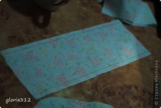 Кукольная жизнь Мастер-класс 8 марта Моделирование конструирование Кресло в стиле Шебби-шик  Картон Кружево Поролон Ткань фото 4