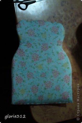 Кукольная жизнь Мастер-класс 8 марта Моделирование конструирование Кресло в стиле Шебби-шик  Картон Кружево Поролон Ткань фото 11