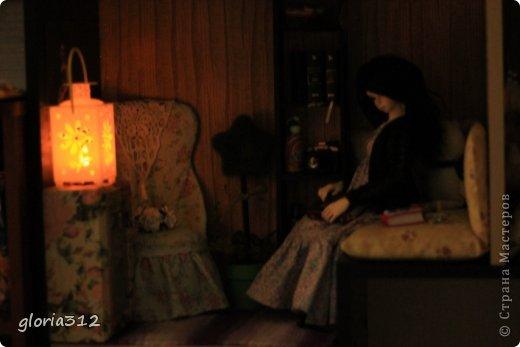 Кукольная жизнь Мастер-класс 8 марта Моделирование конструирование Кресло в стиле Шебби-шик  Картон Кружево Поролон Ткань фото 21