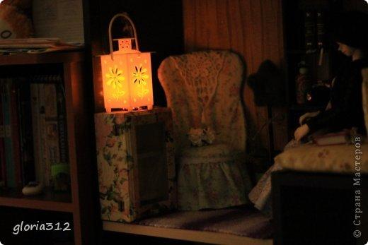 Кукольная жизнь Мастер-класс 8 марта Моделирование конструирование Кресло в стиле Шебби-шик  Картон Кружево Поролон Ткань фото 20