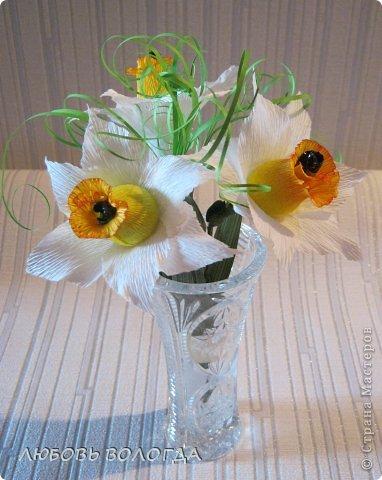 Мастер-класс Свит-дизайн 8 марта Моделирование конструирование Нарциссы Бумага гофрированная Продукты пищевые фото 20