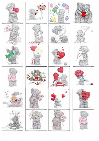 Маленькие картинки для открыток 124