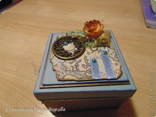 коробочка под сувенир, для молодого человека.  фото 1