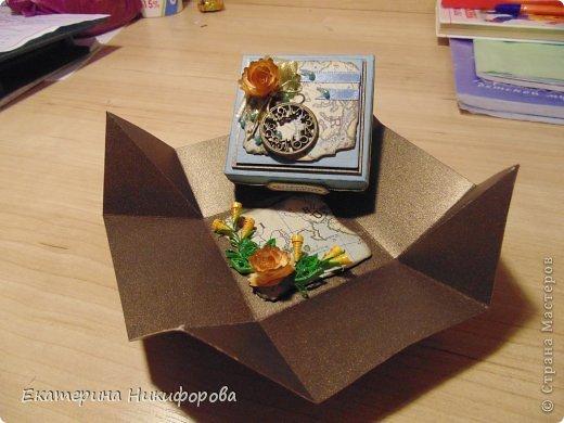 коробочка под сувенир, для молодого человека.  фото 2