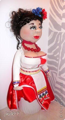 Очередные куклы-бары в технике скульптурный-текстиль. фото 3