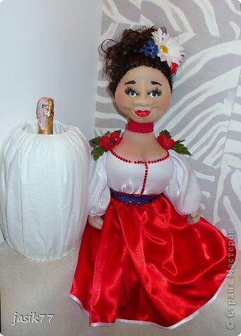 Очередные куклы-бары в технике скульптурный-текстиль. фото 4