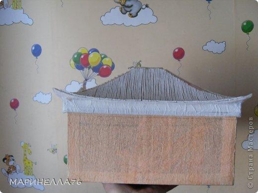 Мастер-класс Картонаж Ларец восточный Картон Салфетки Скорлупа яичная фото 3