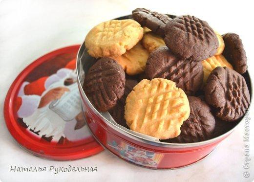 Кулинария Мастер-класс Рецепт кулинарный Печенье рассыпчатое как из банки Продукты пищевые