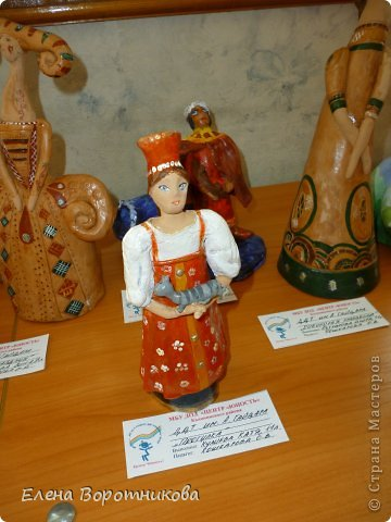 Мы 1 марта участвовали в выставке кукол в японском центре. Это наши работы. фото 3