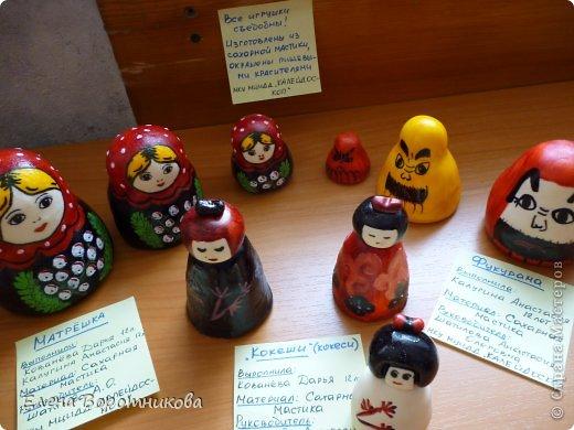 Мы 1 марта участвовали в выставке кукол в японском центре. Это наши работы. фото 9