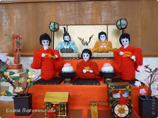 Мы 1 марта участвовали в выставке кукол в японском центре. Это наши работы. фото 5