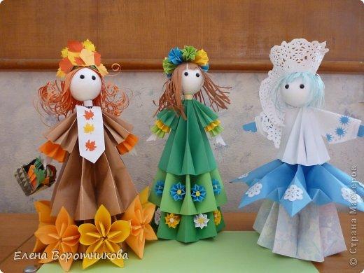 Мы 1 марта участвовали в выставке кукол в японском центре. Это наши работы. фото 12