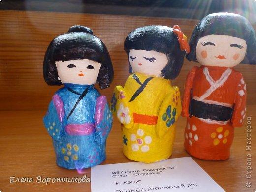 Мы 1 марта участвовали в выставке кукол в японском центре. Это наши работы. фото 6