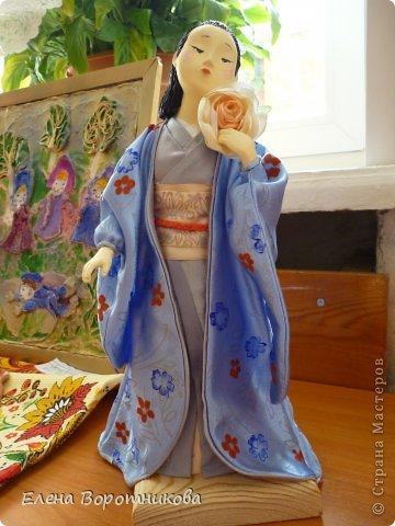 Мы 1 марта участвовали в выставке кукол в японском центре. Это наши работы. фото 10