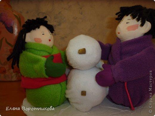 Мы 1 марта участвовали в выставке кукол в японском центре. Это наши работы. фото 13