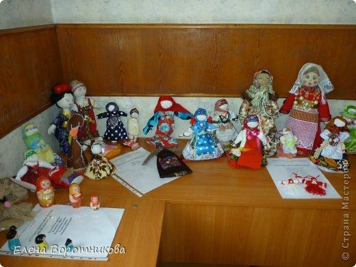 Мы 1 марта участвовали в выставке кукол в японском центре. Это наши работы. фото 1