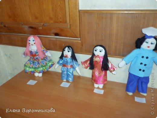 Мы 1 марта участвовали в выставке кукол в японском центре. Это наши работы. фото 2