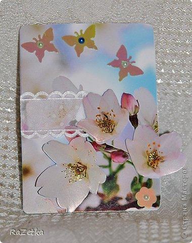 Здравствуйте, друзья! У меня новая серия - Весна. Хочется уже солнышка, тепла и легких облаков цветущих яблонь фото 4