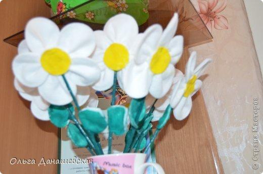 Поделки цветов своими руками из ватных дисков