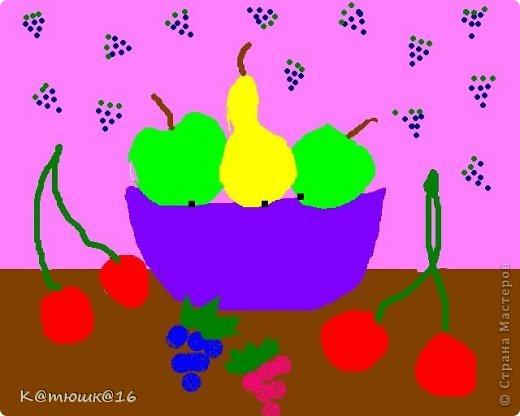 Мои рисунки в Paint | Страна Мастеров: stranamasterov.ru/node/739855