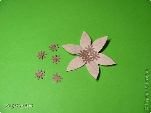 Обещала рассказать, как я делала цветочки для кофейной чашки https://stranamasterov.ru/node/733719. Вот сегодня наконец то сфотографировала процесс. Для изготовления такого цветка, нам понадобится: - акварельная бумага  - оберточная коричневая бумага - зерна кофе - проволока - шпагат - клей ПВА - горячий пистолет фото 4