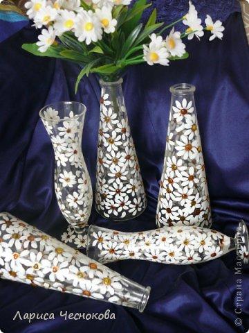 getimage_2 Вазы из стеклянных бутылок: декор, роспись и обрезка