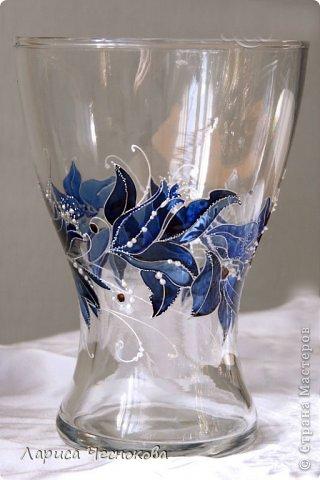 getimage_22 Вазы из стеклянных бутылок: декор, роспись и обрезка
