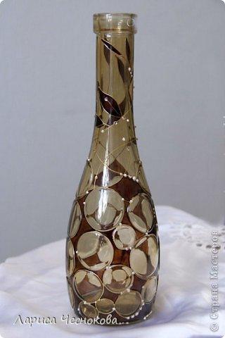 getimage_24_0 Вазы из стеклянных бутылок: декор, роспись и обрезка