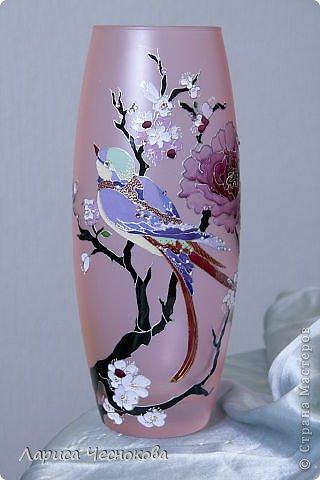 getimage_26 Вазы из стеклянных бутылок: декор, роспись и обрезка