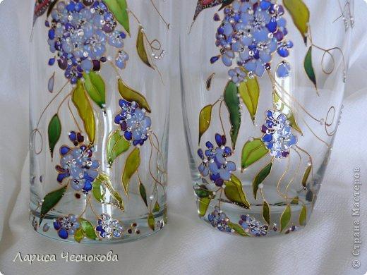 getimage_6_0 Вазы из стеклянных бутылок: декор, роспись и обрезка