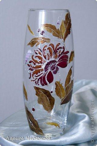 olsv4ty3yrm Вазы из стеклянных бутылок: декор, роспись и обрезка