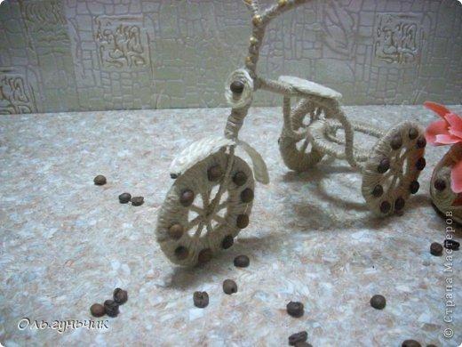 Доброго всем времени суток!!! Увидела я у Оли https://stranamasterov.ru/node/633971?c=favorite шпагатный велосипед и захотелось мне иметь такой же! Раз захотела, то вот он перед вами))) МК по велосипедам в Стране есть, но я делала немного по другому, поэтому показываю МК... фото 14