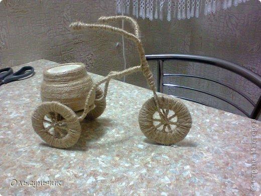 Доброго всем времени суток!!! Увидела я у Оли https://stranamasterov.ru/node/633971?c=favorite шпагатный велосипед и захотелось мне иметь такой же! Раз захотела, то вот он перед вами))) МК по велосипедам в Стране есть, но я делала немного по другому, поэтому показываю МК... фото 30