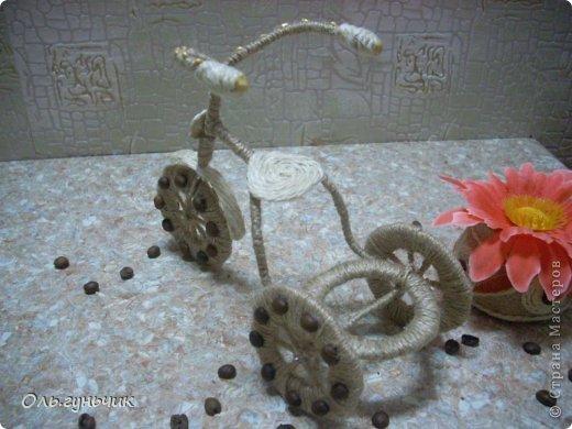 Доброго всем времени суток!!! Увидела я у Оли https://stranamasterov.ru/node/633971?c=favorite шпагатный велосипед и захотелось мне иметь такой же! Раз захотела, то вот он перед вами))) МК по велосипедам в Стране есть, но я делала немного по другому, поэтому показываю МК... фото 32