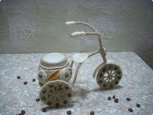 Доброго всем времени суток!!! Увидела я у Оли https://stranamasterov.ru/node/633971?c=favorite шпагатный велосипед и захотелось мне иметь такой же! Раз захотела, то вот он перед вами))) МК по велосипедам в Стране есть, но я делала немного по другому, поэтому показываю МК... фото 8